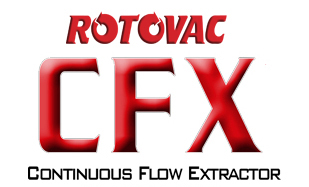 Rotovac Cfx Docking Station Portable Extractor